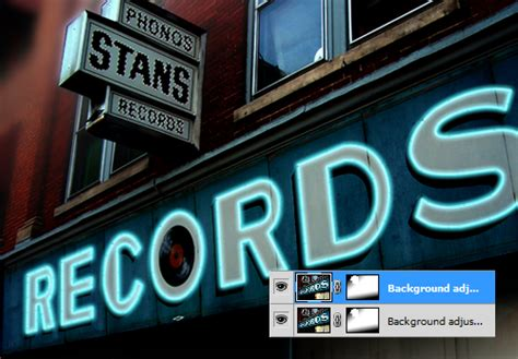 neon sign tutorial photoshop cs5 neon records animated neon sign photoshop tutorial