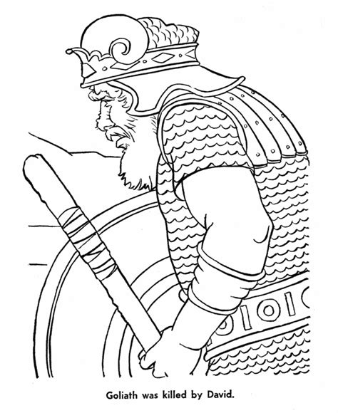 coloring pages bible characters bible story characters coloring page sheets david killed