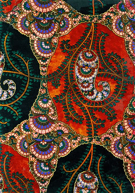 fabric pattern history a brief history of paisley fashion the guardian