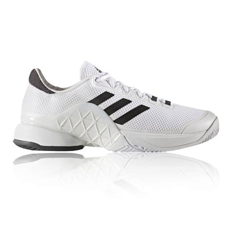 adidas barricade 2017 mens white tennis court sports shoes trainers sneakers ebay