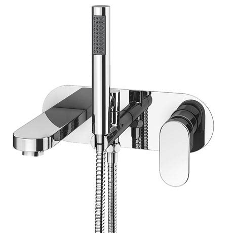 wall mounted bath shower mixer taps elite wall mounted bath shower mixer tap shower kit
