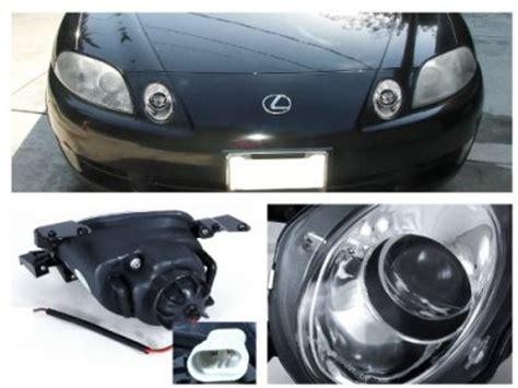 accident recorder 2010 nissan titan head up display headlight removal 1999 lexus sc lexus sc300 1992 1999 clear ccfl halo projector headlights