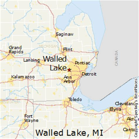 best places to live in walled lake, michigan