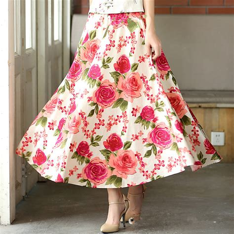 free shipping 2015 summer skirts plus size