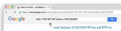 Search Email By Date An Undocumented Gmail Trick Search Emails By Date And Time Techwebies