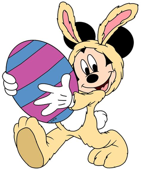 easter mickey mouse pictures mickey easter2 gif 500 215 604 disney easter