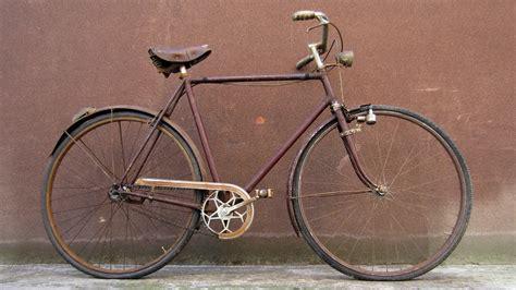 d bici bicicletta d epoca bottecchia 28 con contropedale e