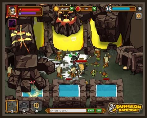dungeon rampage | onrpg