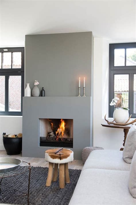 Grey Fireplace Surrounds by 300 Best Images About Interieur Open Haarden Places On