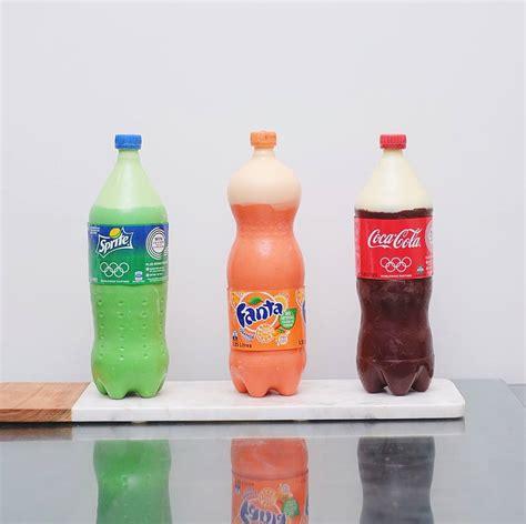 Baking Soda Edible 500g these bottles of coke fanta are actually cakes