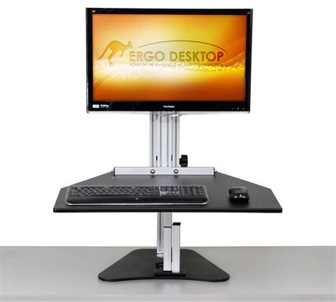 sentinel elite help desk wallaby elite sit stand workstation