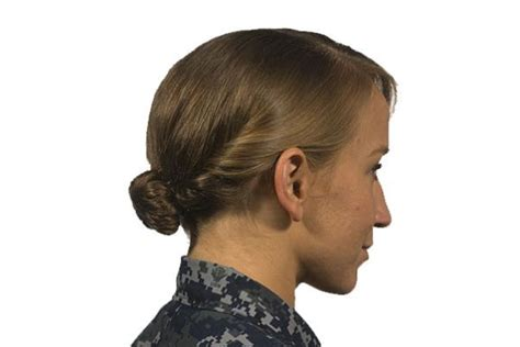 army female hairstyles navy issues new hairstyle policies for female sailors
