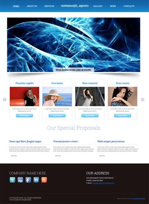 free flash website templates magnificent radio website templates pictures