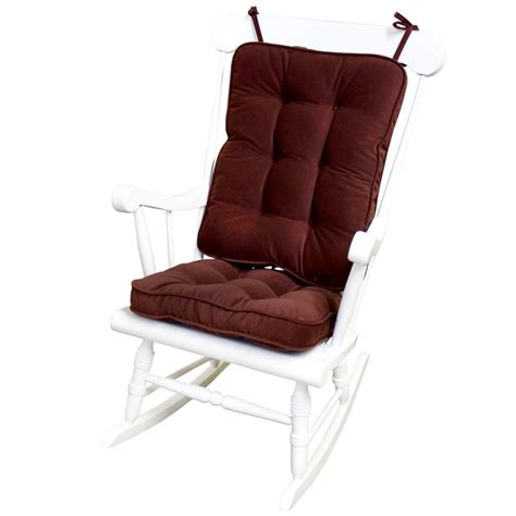 greendale home fashions standard rocking chair cushion hyatt fabric burgundy ebay