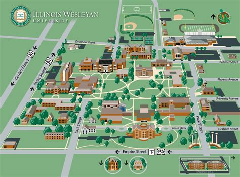texas wesleyan university cus map illinois wesleyan international advising arriving at iwu