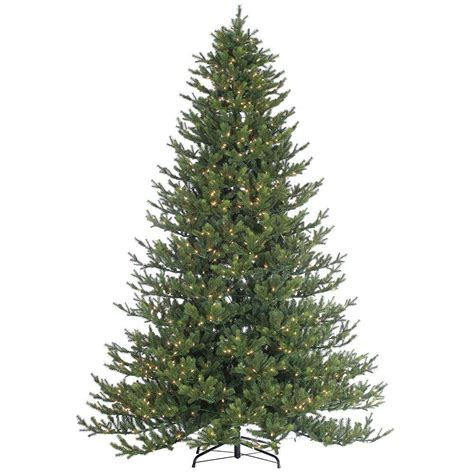 9 ft pre lit tree sterling 9 ft pre lit cut rockford pine