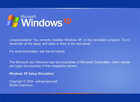 setup xp windows 8 practice installing windows using a simulator