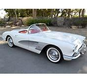 Sale 1958 Chevrolet Corvette Convertible Used Corvettes For