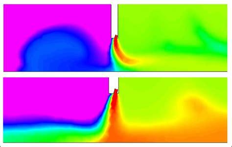 air curtain calculation pc progress cochem flow
