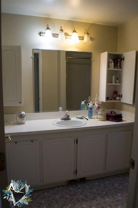 Updating Bathroom Vanity How To Update An Bathroom Vanity The Weathered Fox
