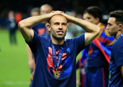 barcelona in chions league barcelona announce mascherano s departure for hebei in
