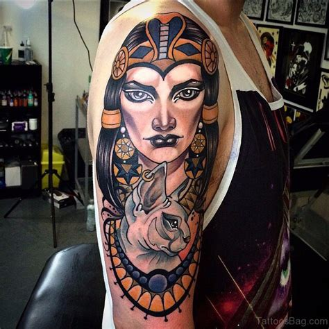 tattoo queen st 55 new egyptian tattoos on shoulder
