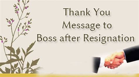 thank you letter to my before leaving thank you message to after resignation