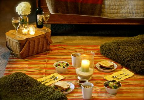 How To Decorate Your Livingroom by Date Night Idea Indoor Picnic The Yes Girls