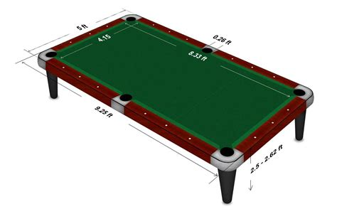 what size is a pool table snooker table size pool table diagram with sizes and