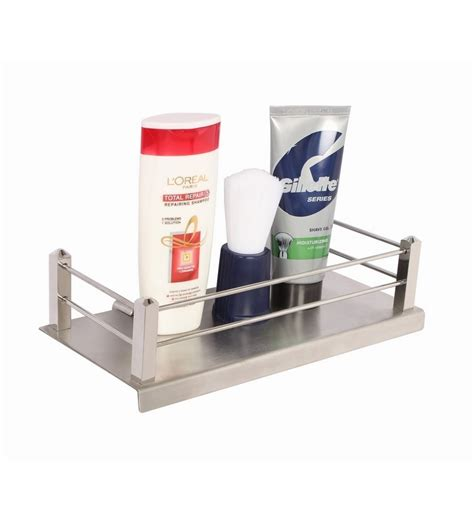 stainless steel bathroom shelves regis bathroom kitchen stainless steel wall shelf rack stella 225mm by regis bathroom