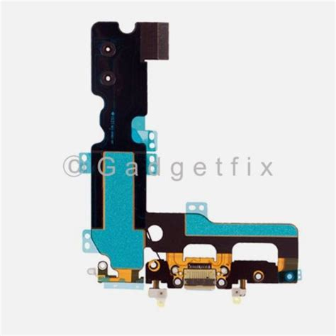 gray charging charger port flex cable mic antenna replacement for iphone 7 plus 232282045939