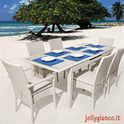 sedie tavolo arredo giardino tavoli da giardino allungabili