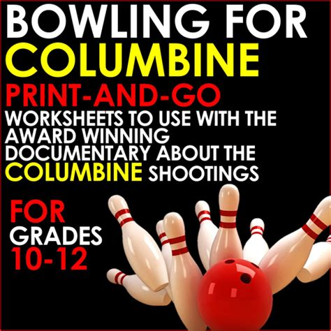 Bowling For Columbine Essay by Bowling For Columbine Print And Go Worksheets For Analysis Of Michael S Documentary By