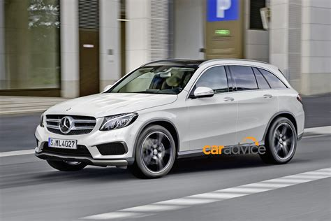 mercedes glc glk replacement spied and rendered