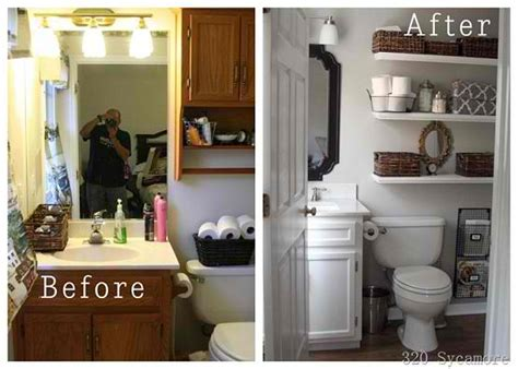 before and after home makeover inspiring before and after bathroom makeover