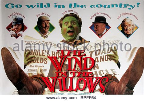 film poster the wind in the willows (1996 stock photo