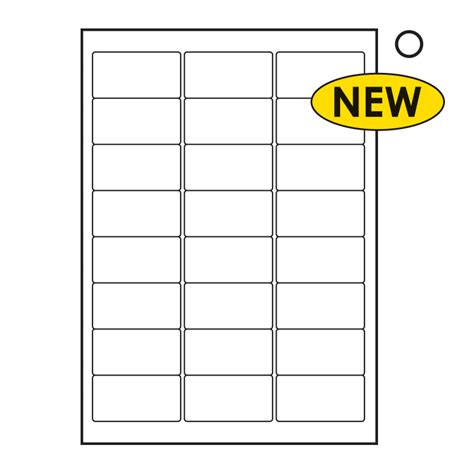 100 label template 24 per sheet free blank water