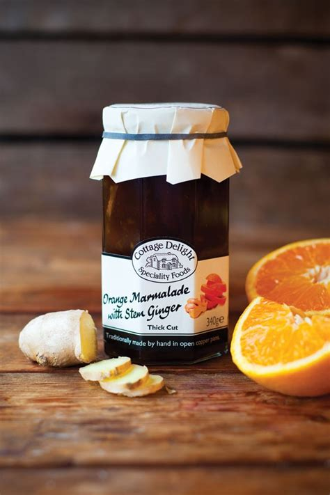Cottage Delight by Cottage Delight Orange Marmalade Thick Cut With Stem