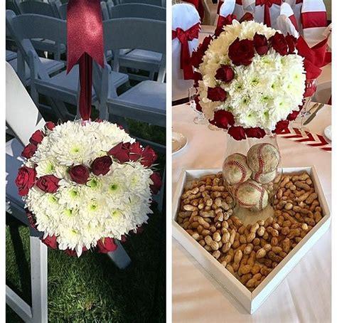 baseball wedding centerpieces best 20 baseball wedding centerpieces ideas on