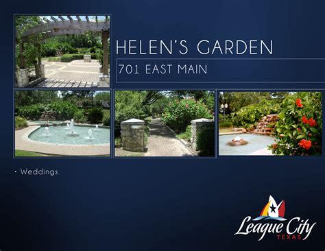 Garden Center League City The League City Official Website Helen S Garden