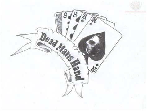 dead mans hand tattoo dead mans