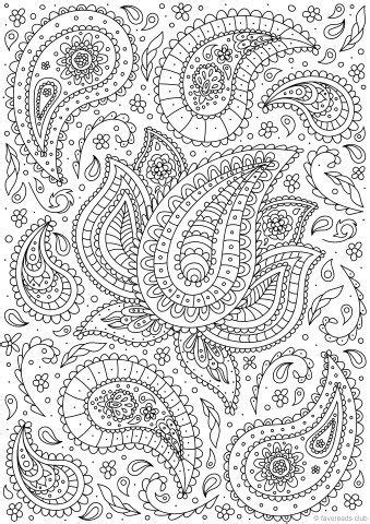 paisley coloring pages pdf de 23 b 228 sta paisley coloring pages for adults bilderna p 229