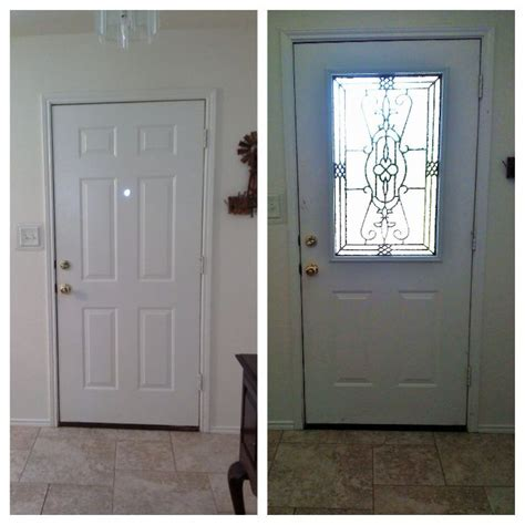 Glass Insert For Front Door 17 Best Images About Door Remodel On Glass Design Decorative Glass And Before And
