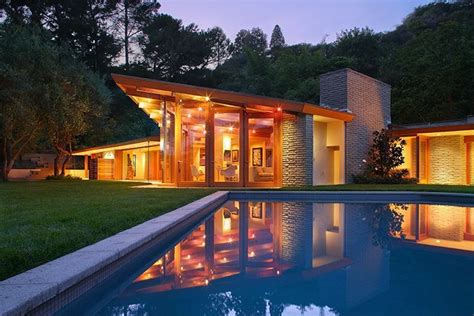 a small mid century modern house in hollywood richard report katy perry buys mid century modern home in
