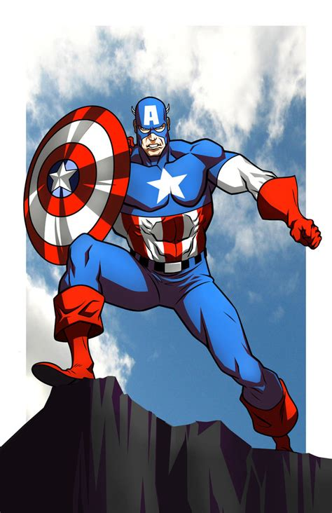 captain america wallpaper deviantart captain america by chubeto on deviantart