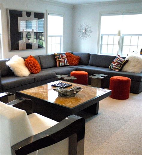 sectional sofa decorating ideas cool large sectional sofas decorating ideas
