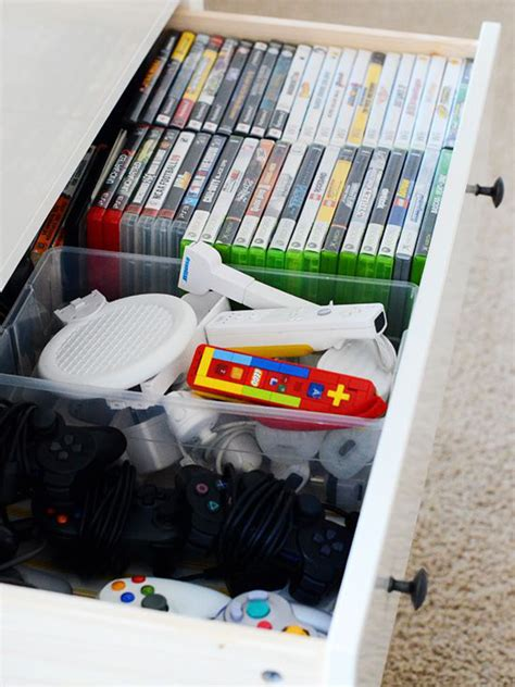 game storage ideas 15 cool ways to video game controller storage home