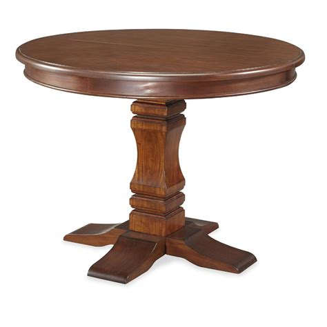 Kitchen Pedestal Table International Concepts 36 Quot Top Pedestal Table Home Furniture Dining Kitchen