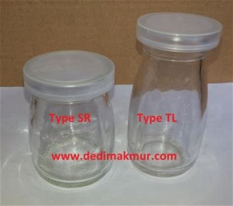 Botol Jar Kaca Gagang 100ml Puding Selai Yoghurt Murah botol selai archives dedimakmur
