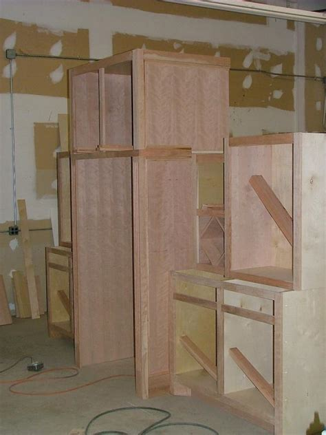height refrigerator cabinet construction